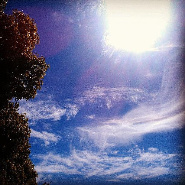 Sky Photograph - Big Whisper by CML Brown