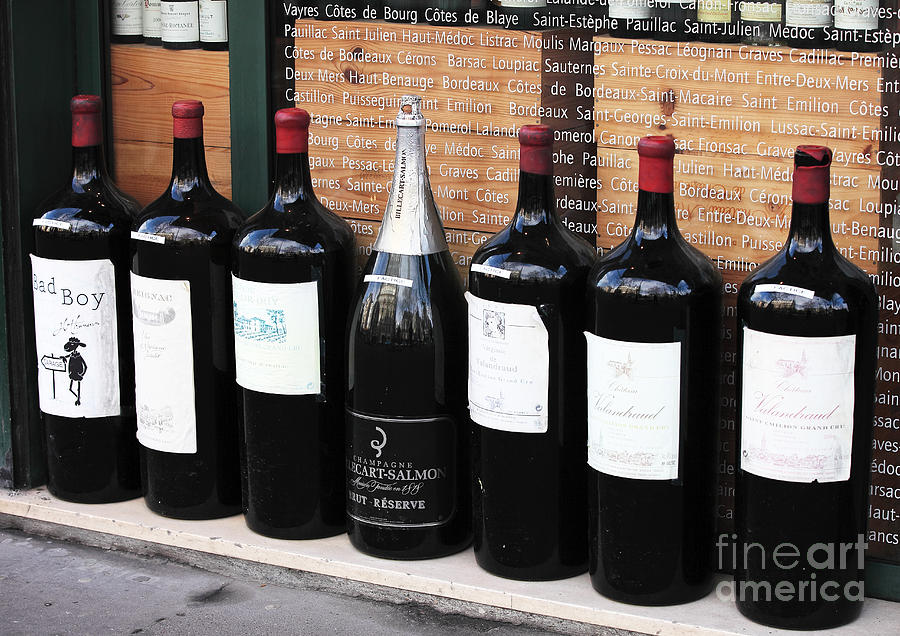 Wine Photograph - Big Wine by John Rizzuto