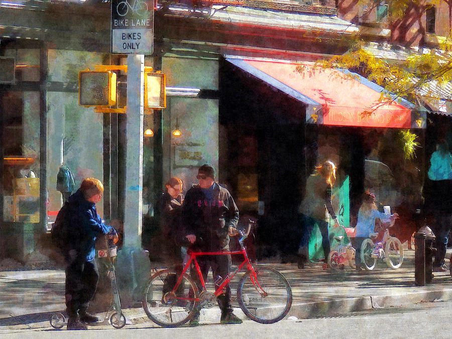 Bike Photograph - Bike Lane by Susan Savad