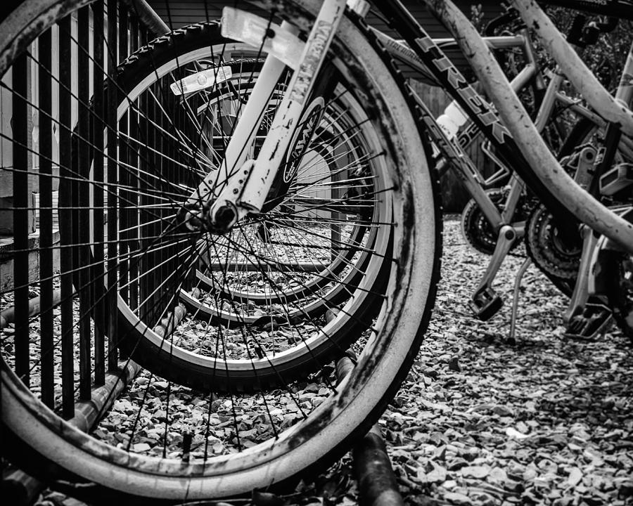 Cape May Photograph - Bike Rack by Steve Stanger