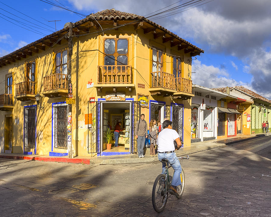 San Cristobal De Las Casas Photograph - Bike Ride On A Beautiful Afternoon In Chiapas by Mark Tisdale