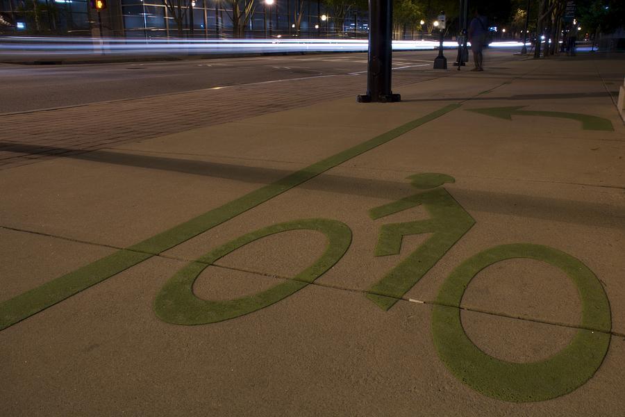 Bike Photograph - Bikes Versus Cars by Lisa Marie Pane