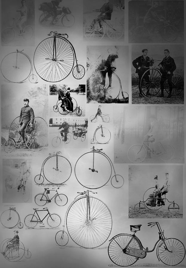 Bikes Photograph - Bikezz by The Artist Project