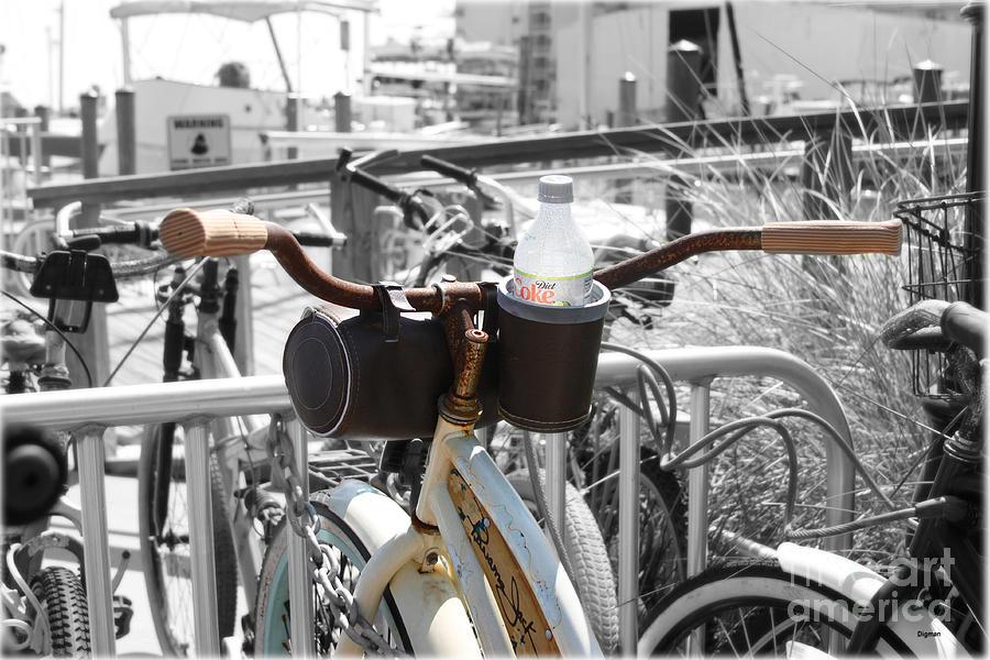 Bike Photograph - Biking With Panama Jack  by Steven Digman