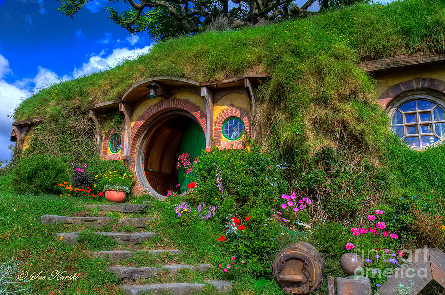Bilbo Baggin's House 5 Photograph by Sue Karski