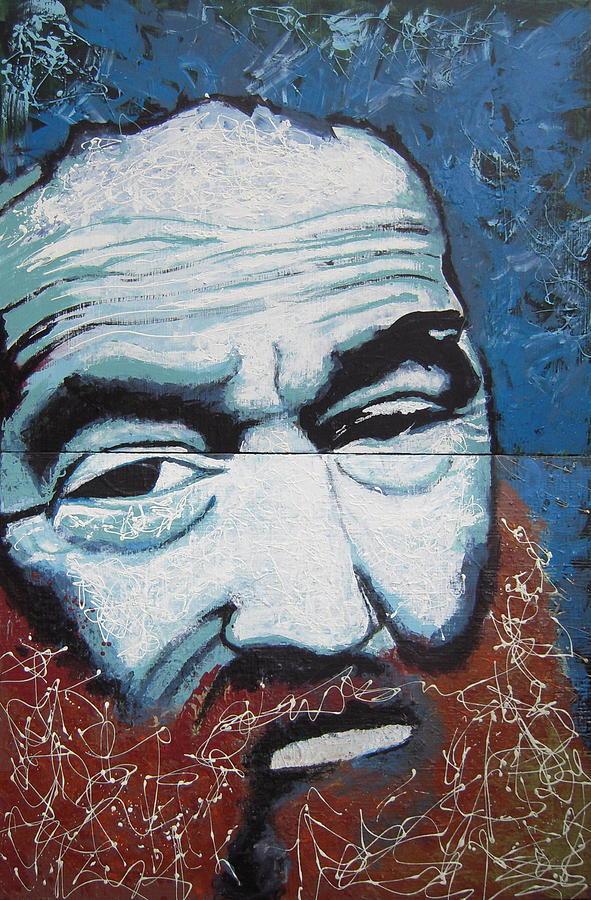 Portrait Painting - Bill by Kate Tesch