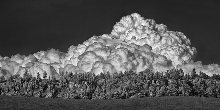 Billowing Clouds by Steve White