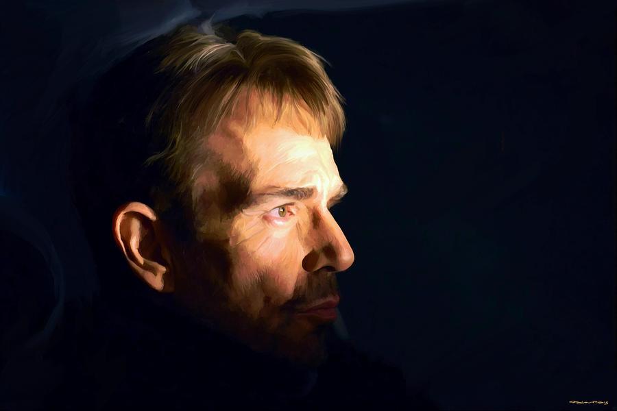 Billy Bob Thornton Digital Art - Billy Bob Thornton @ Fargo Tv Series by Gabriel T Toro