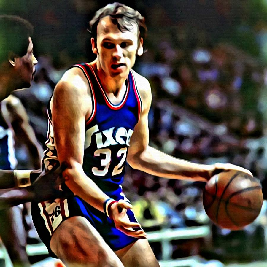 Billy Cunningham Painting by Florian Rodarte