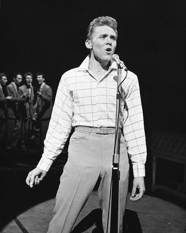 Billy Fury Photograph - Billy Fury by Silver Screen