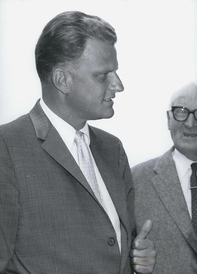 Retro Photograph - Billy Graham, �the Greatest Evangelist Of Our Times� by Retro Images Archive