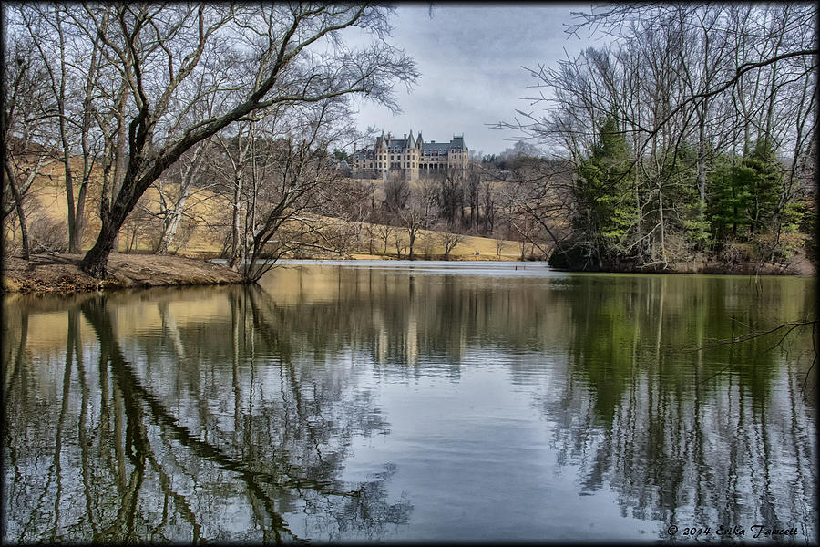 Biltmore Photograph - Biltmore Reflection by Erika Fawcett