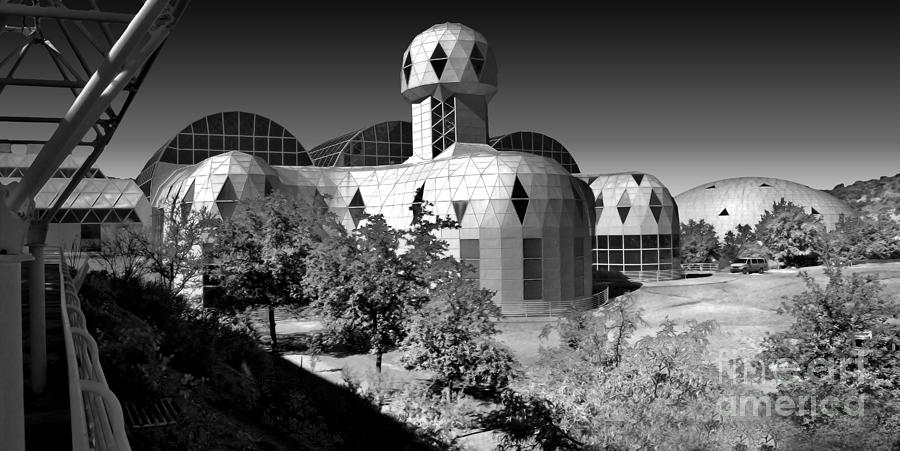 Biosphere 2 Photograph - Biosphere 2 by Gregory Dyer