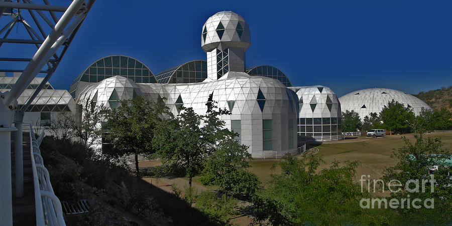 Biosphere 2 Photograph - Biosphere2 by Gregory Dyer