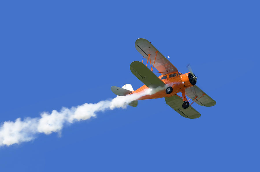 Biplane Photograph by Zu 09
