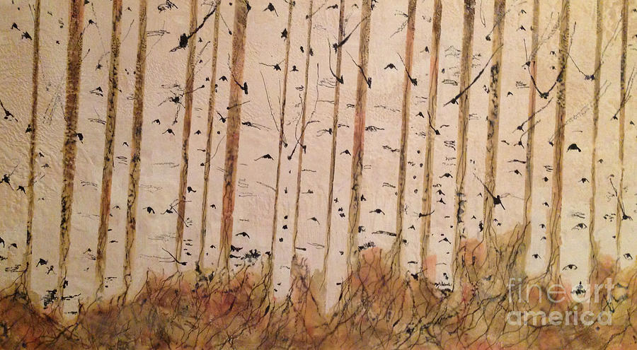 Birch Forest by Heather Hennick