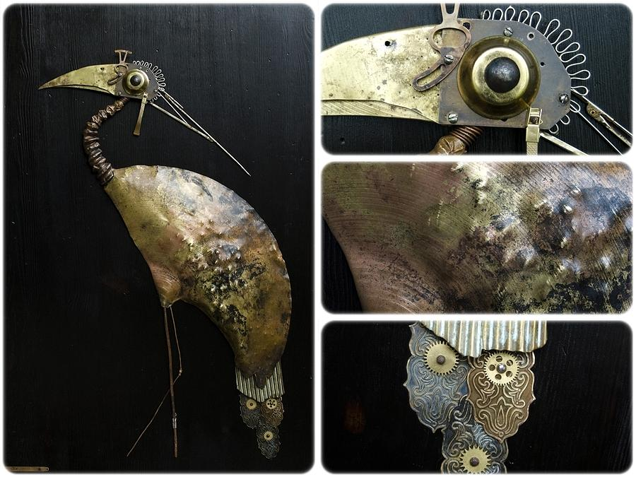 Bird Sculpture - Bird Cx by Vladimiras Nikonovas