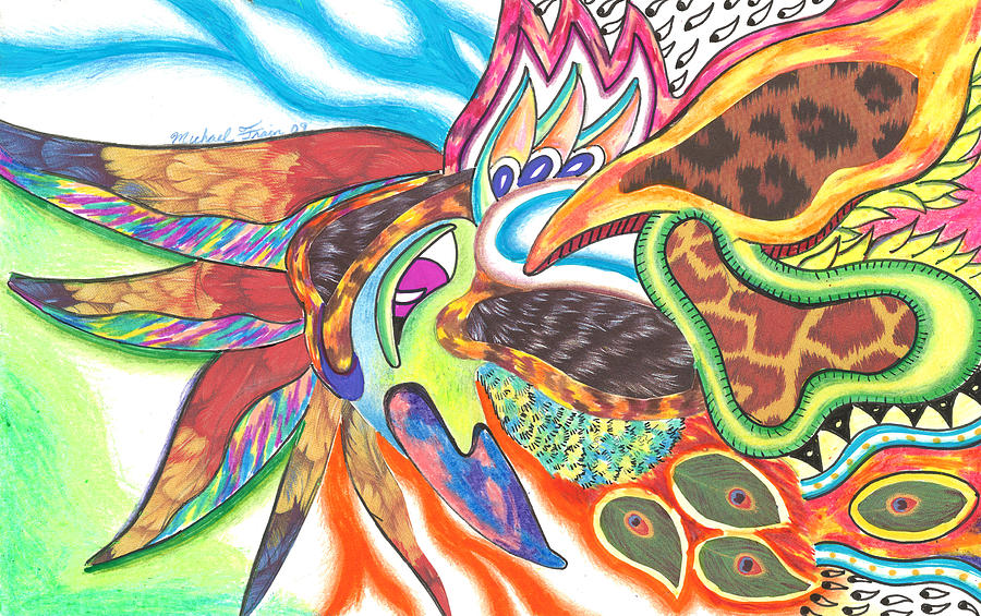 Phoenix Our Immortal Bird by Michael Andrew Frain