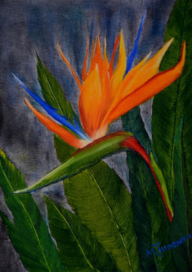 Bird Of Paradise Painting - Bird of Paradise by Marsha Thornton