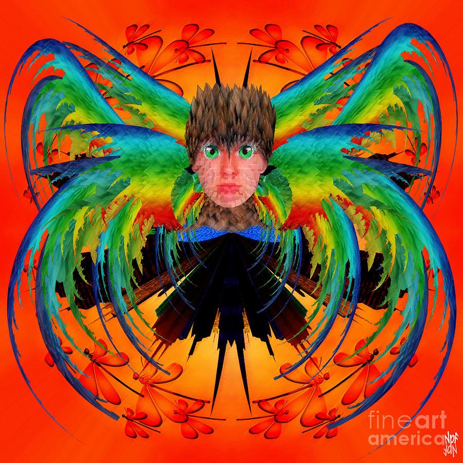 Fantasy Digital Art - Bird Of Paradise by Neil Finnemore