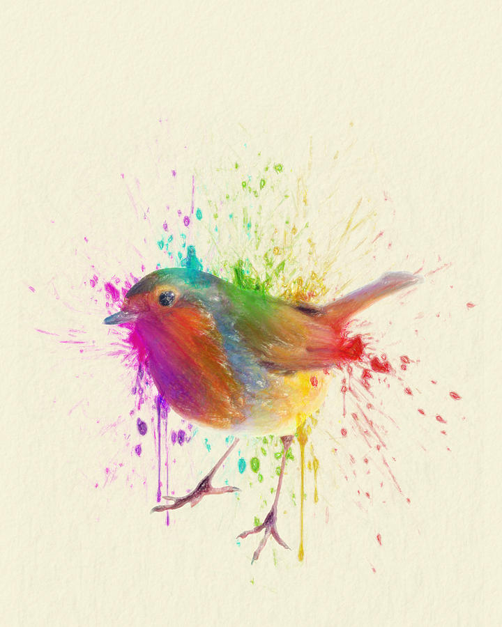 Bird Drawing - Bird Study by Taylan Soyturk