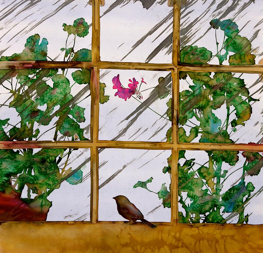 Birds Tapestry - Textile - Bird With A View by Carolyn Doe