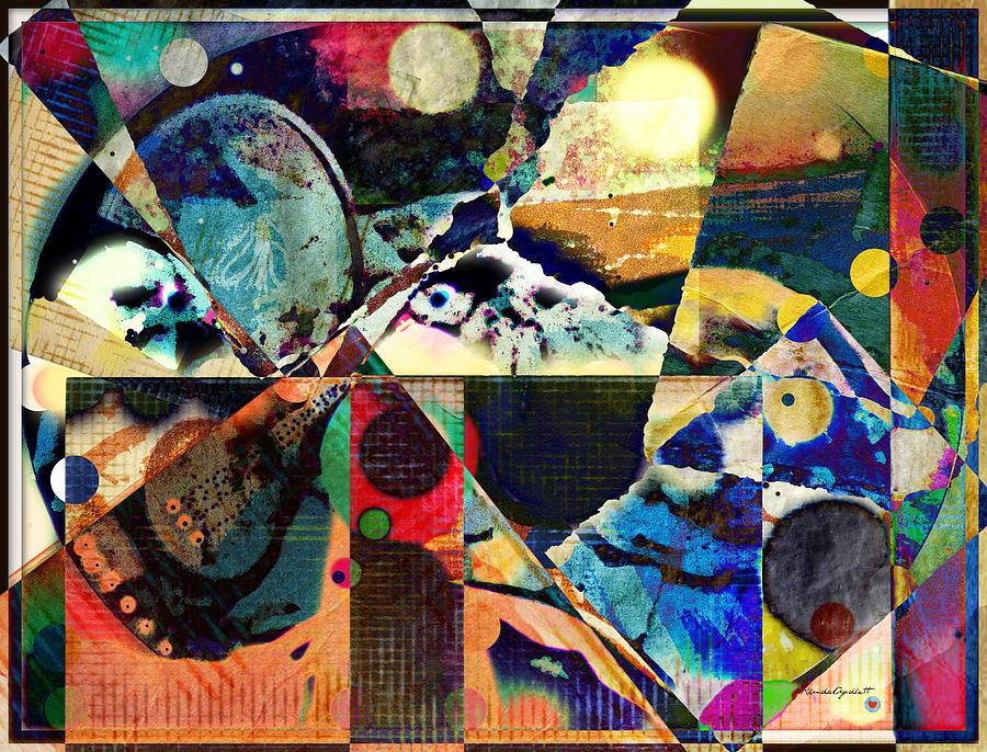 Birds Mixed Media - Birds And Music by YoMamaBird Rhonda
