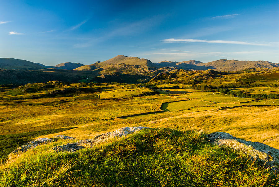 Cumbria Photograph - Birker Fell Lake District by David Ross