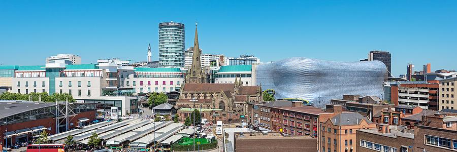 Birmingham Cityscape, England, UK Photograph by ChrisHepburn