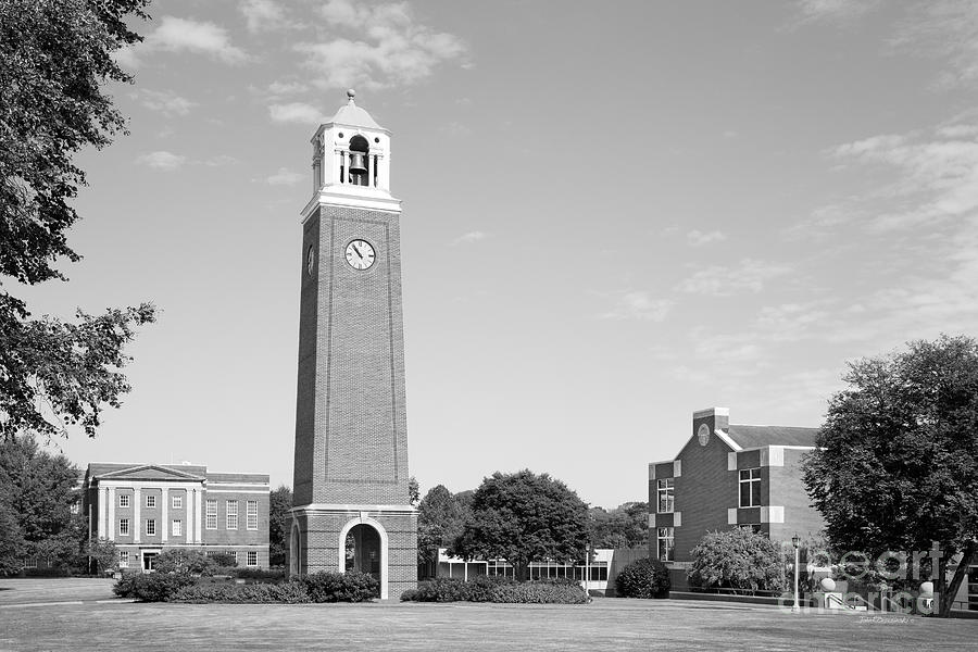 Alabama Photograph - Birmingham- Southern College Edwards Bell Tower by University Icons