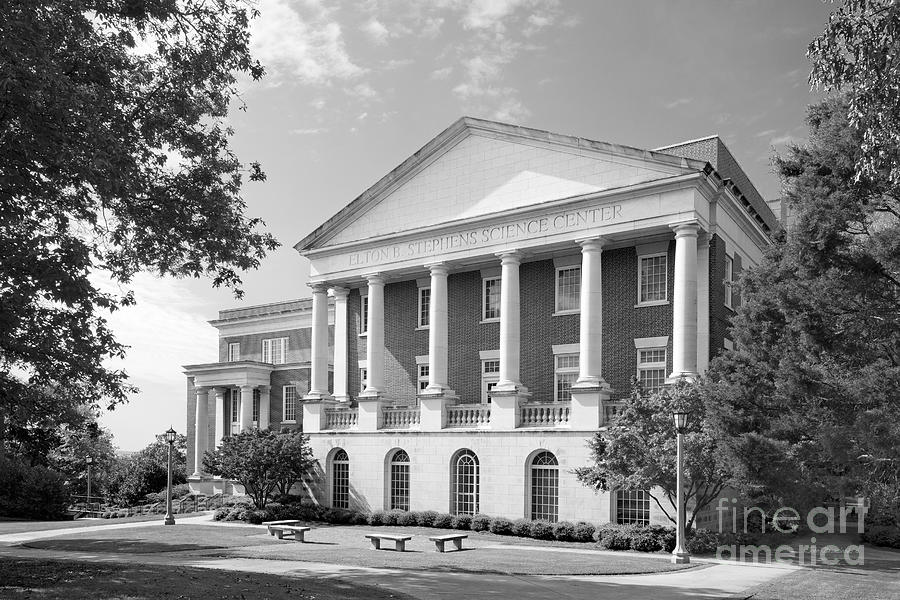 Alabama Photograph - Birmingham- Southern College Stephens Science Center by University Icons