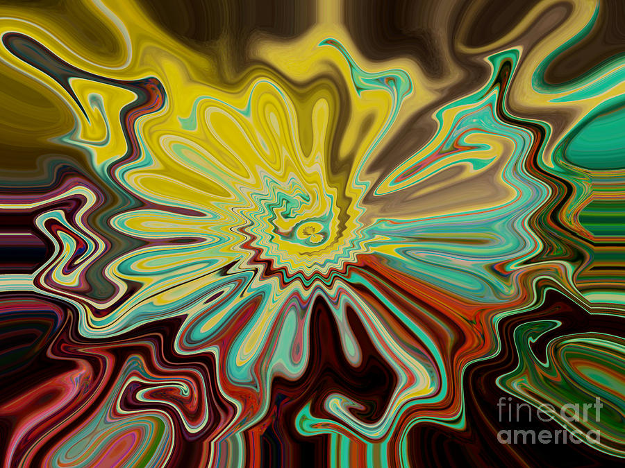 Photograph Digital Art - Birth Of A Flower by Lorraine Heath