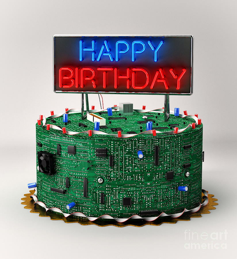 Cake For Computer Engineer