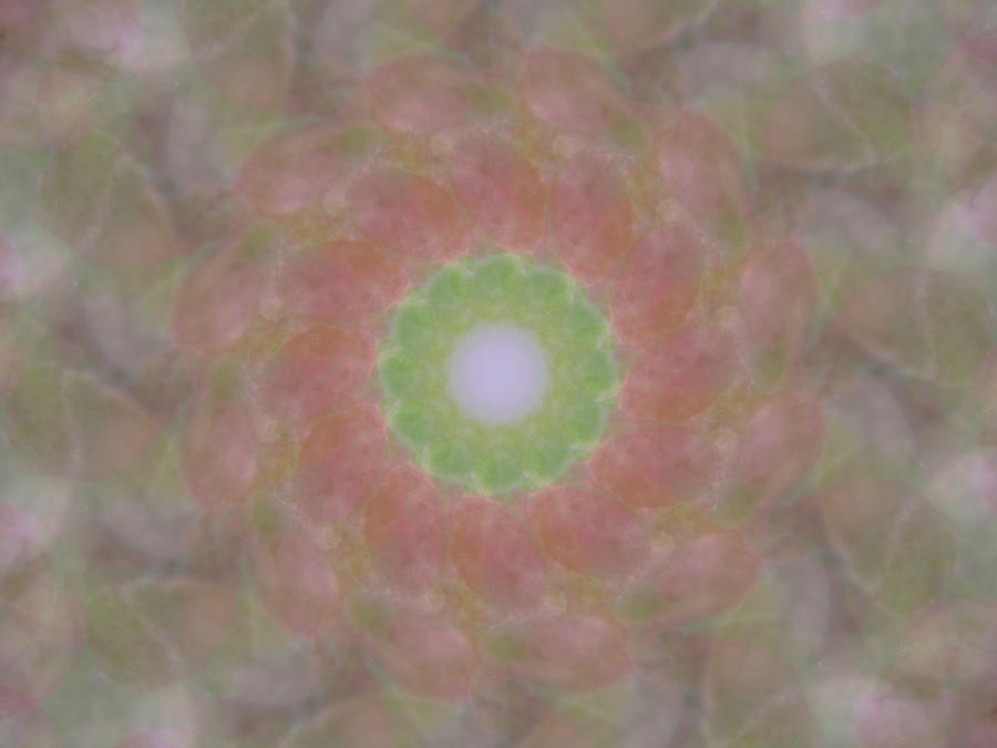Birthing Digital Art - Birthing Mandala 1 by Rhonda Barrett