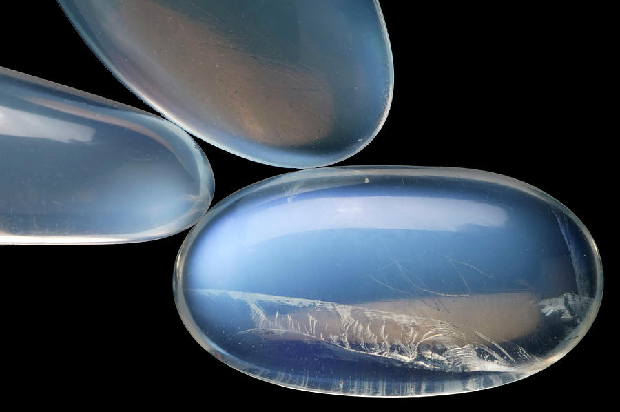 Birthstone Photograph - Birthstone Series: Moonstone by Natural History Museum, London/science Photo Library