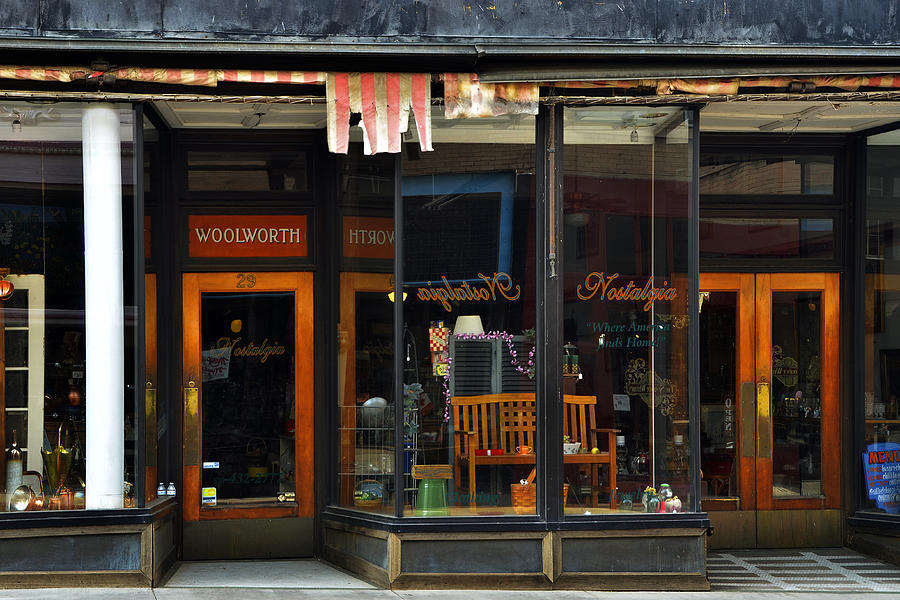 Store Photograph - Bisbee Arizona Store Front by Dave Dilli