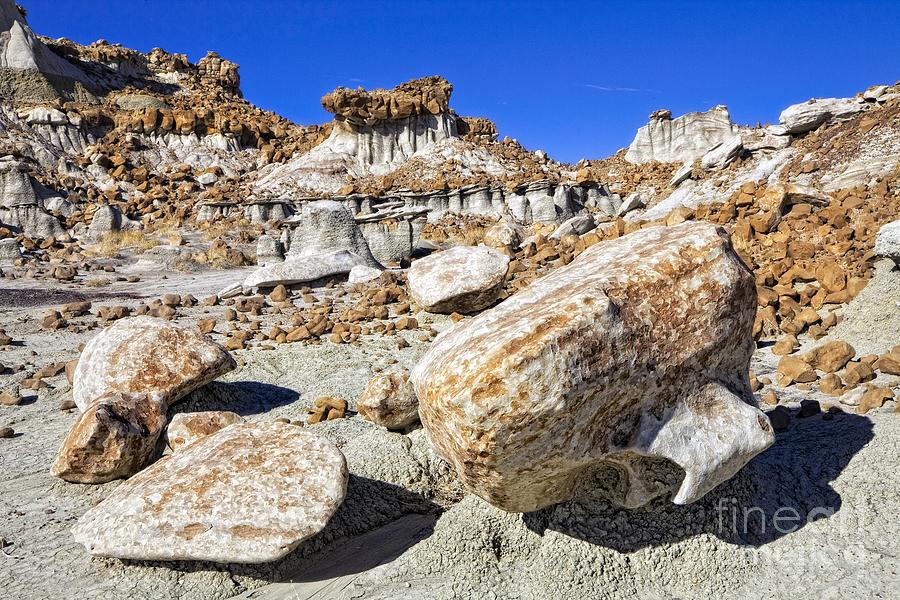Bisti Badlands Photograph - Bisti Badlands 3 by Timothy Hacker