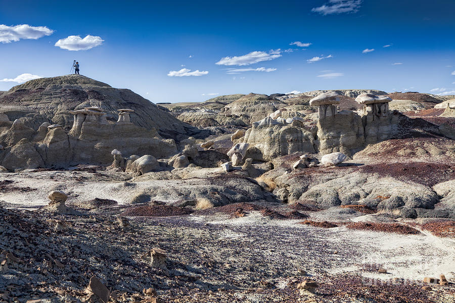 Bisti Badlands Photograph - Bisti Badlands 4 by Timothy Hacker