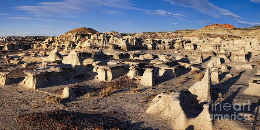 Bisti Badlands Photograph - Bisti Badlands Panoramic by Timothy Hacker
