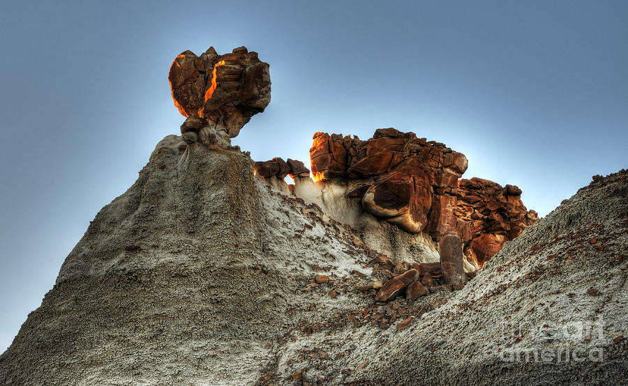 Bisti Land Form  Photograph By Vivian Christopher