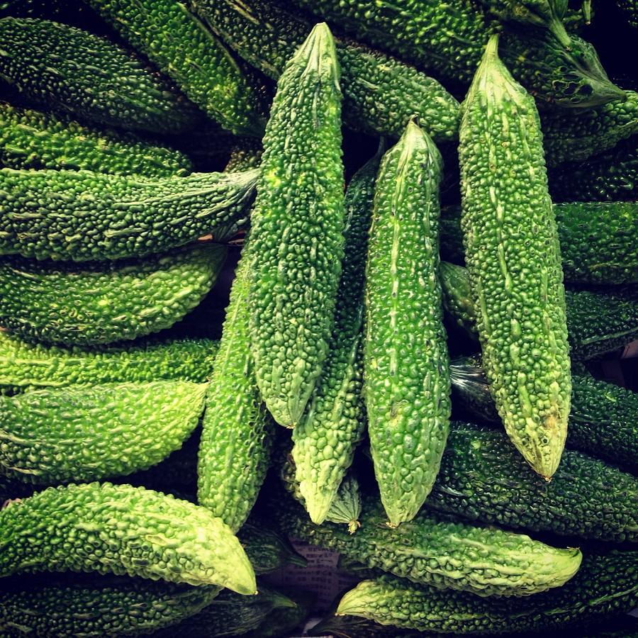 Bitter Melons Photograph by Digipub
