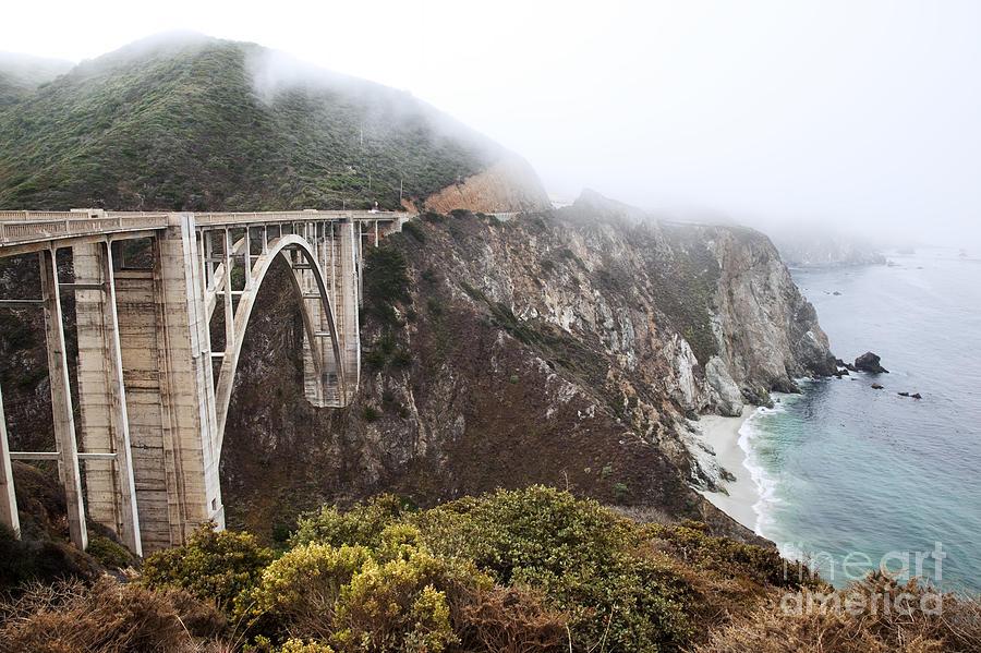 Adventure Photograph - Bixby Bridge II by Jenna Szerlag