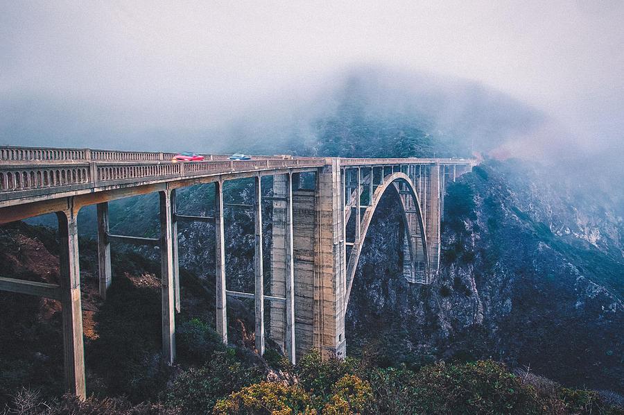 Bixby Creek Bridge Photograph