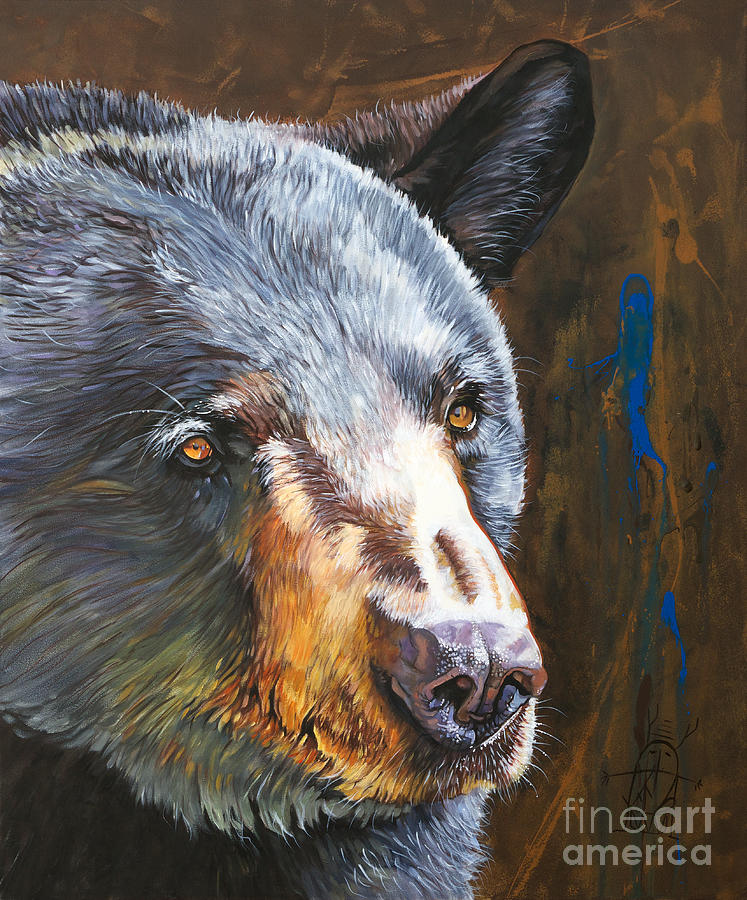 Black Bear the Messenger by J W Baker