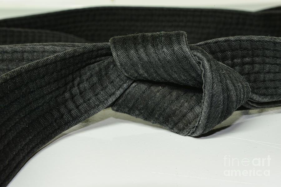 Paul Ward Photograph - Black Belt by Paul Ward