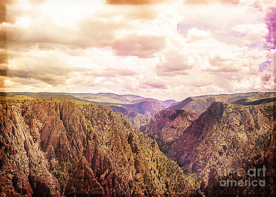 Colorado Photograph - Black Canyon Colorado by Janice Rae Pariza