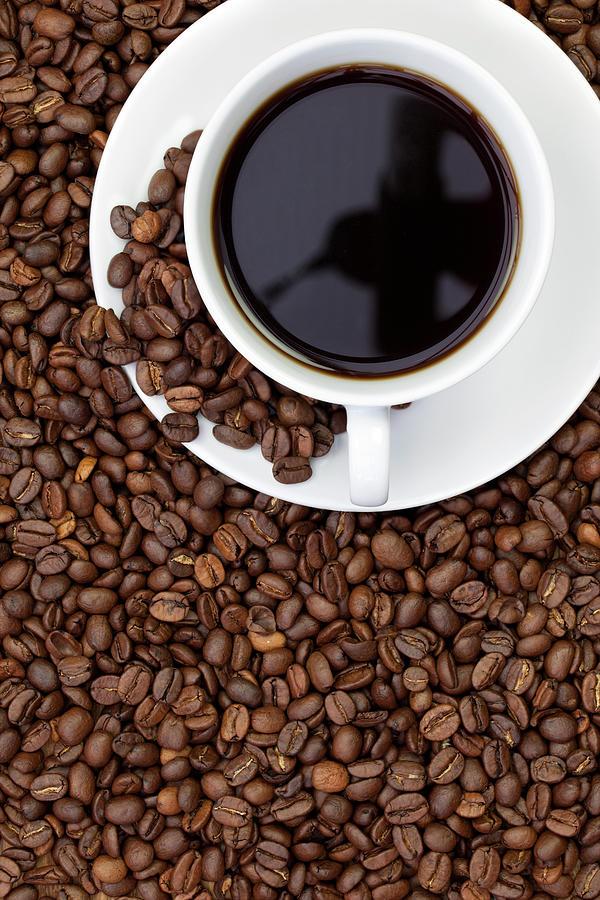 Black Coffee Photograph by Andrew Dernie