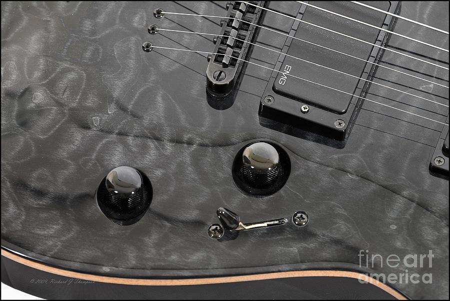 Black Guitar by Richard J Thompson