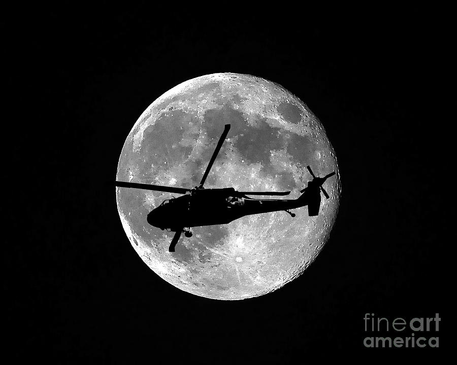 Black Hawk Moon by Al Powell Photography USA