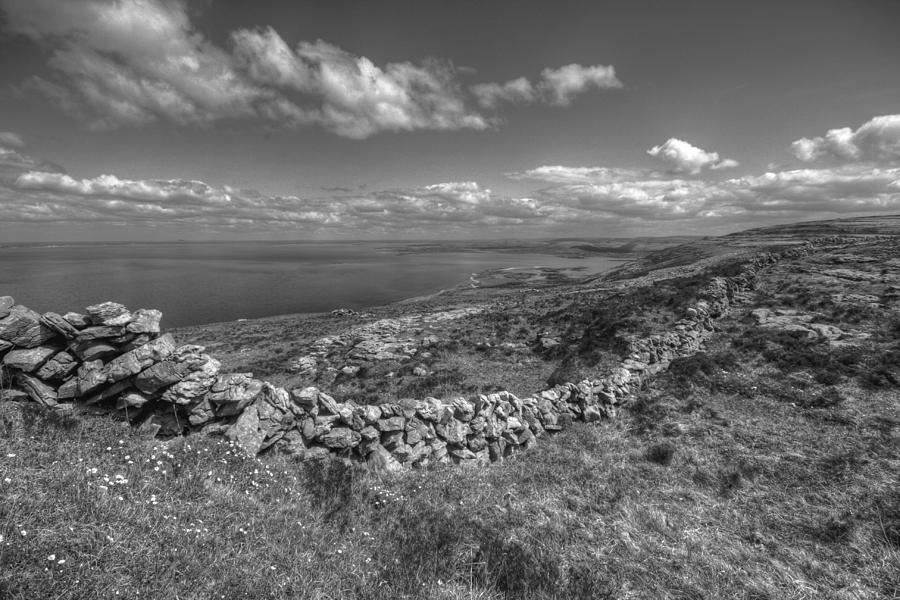 Ballyvaughan Photograph - Black Head Scenic View by John Quinn